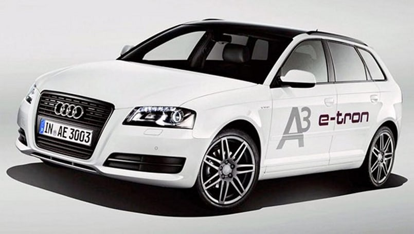 Audi's A3 e-tron gearing up for 2013, should hit 90 miles per charge