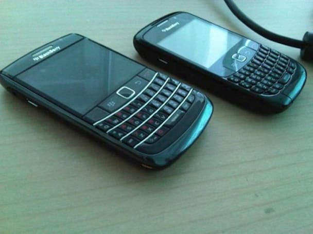 BlackBerry Onyx with optical trackball leaks out