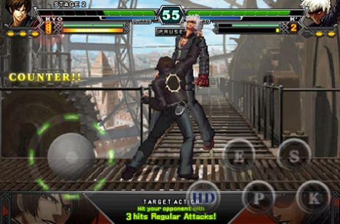 TUAW's Daily iPhone App: The King of Fighters-i 002