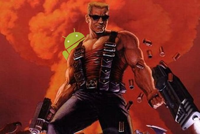 Duke Nukem 3D is coming to Android, old rope shares soar