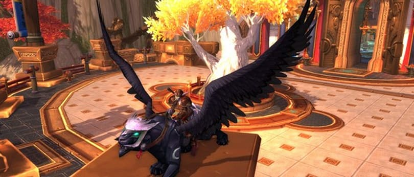 Obsidian Nightwing now available as Recruit-A-Friend mount