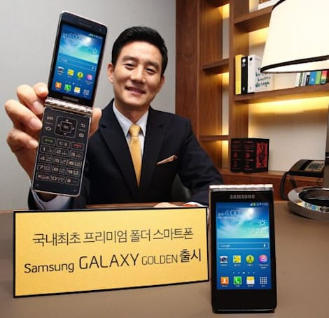 Samsung announces another dual-screen flip-phone: the Galaxy Golden