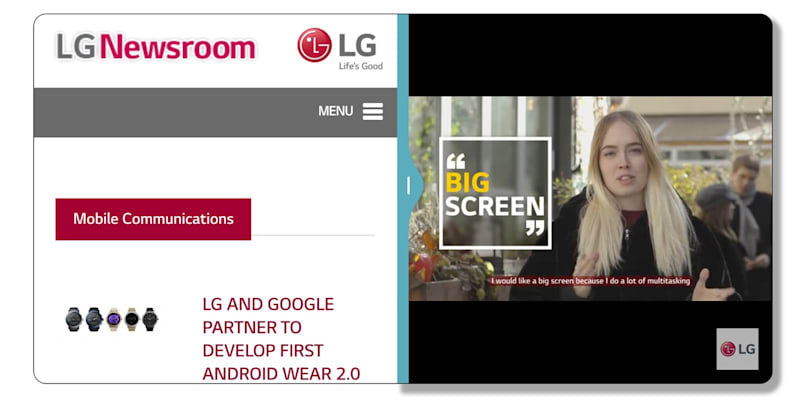 LG explains why the G6 has a big 'FullVision' display