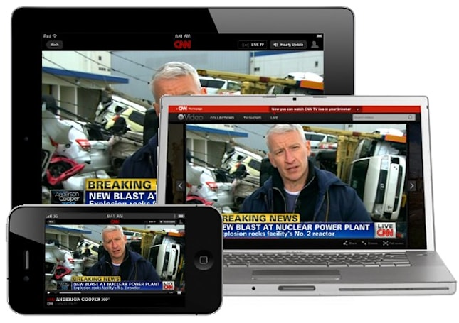 CNN starts streaming 24 hours of 'news' online and on your iPhone