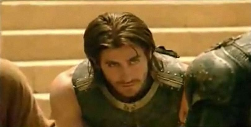 Prince of Persia film footage shows up, Gyllenhaal still dreamy
