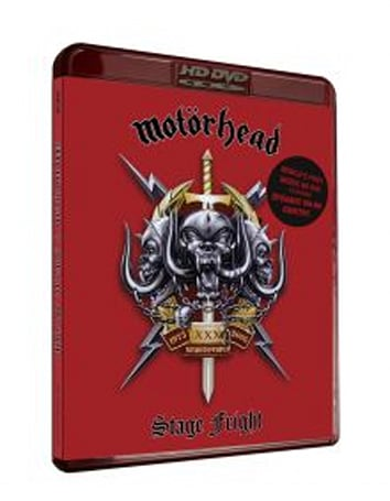 """Motorhead's """"Stage Fright"""" is the first online-enabled music, European HD DVD"""