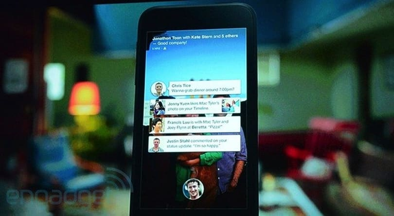 Facebook Home official, replaces your app icons with social info (video)