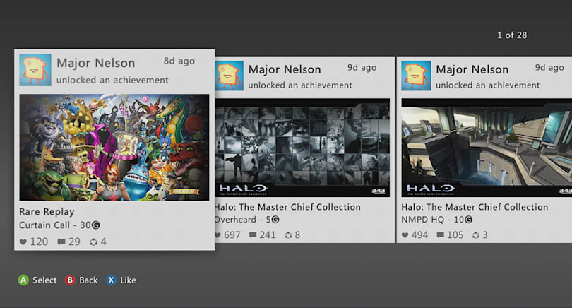 Xbox 360 update will make it just as social as the Xbox One