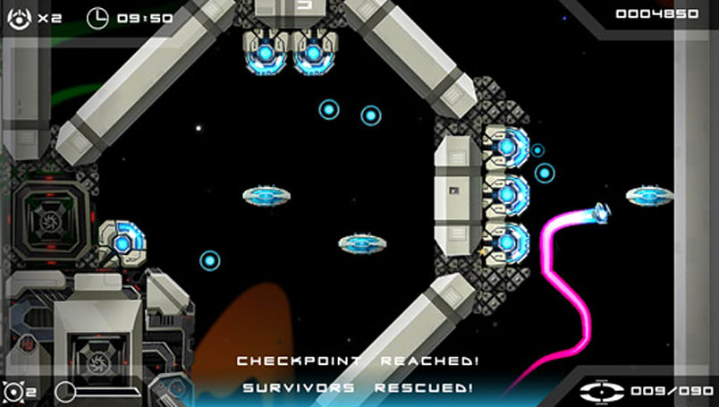 Twin-stick puzzle-em-up Velocity Ultra also heading to Steam
