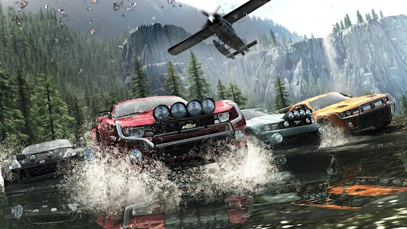 Ubisoft's action-driving MMO The Crew launches today