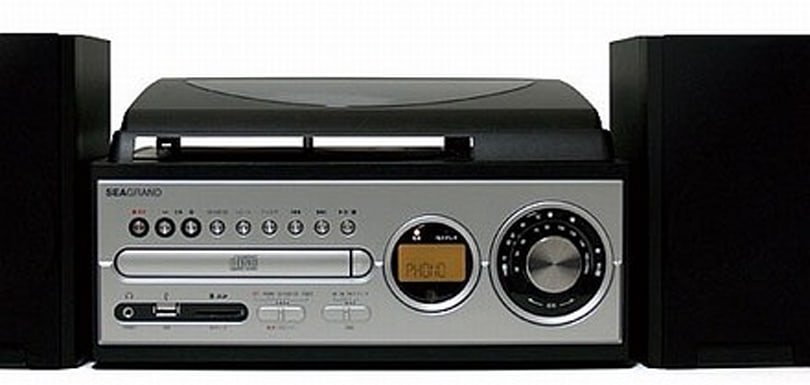 SeaGrand's GENESOUND rips vinyl to CD / MP3