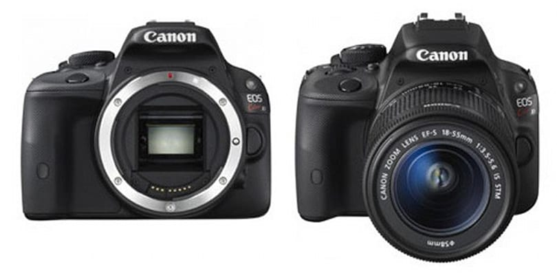 Canon's tiny next-gen EOS Rebel spied, reportedly with modest specs to match
