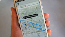 Dutch police arrest four Uber drivers in Amsterdam