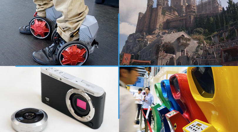 Engadget Daily: Samsung's NX mini, the world's first video arcade machine and more!