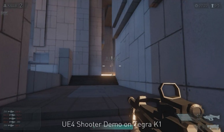 Nvidia's Tegra K1 processor plays nice with Unreal Engine 4