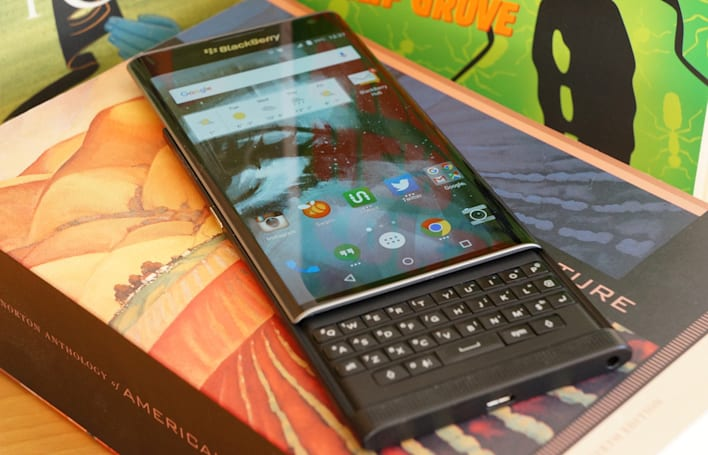 Living with the BlackBerry Priv hooked me on its keyboard