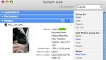 Mac Whine: Spotlight's disconnected image results