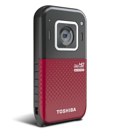 Toshiba intros Camileo BW20 waterproof camcorder, available now for $130