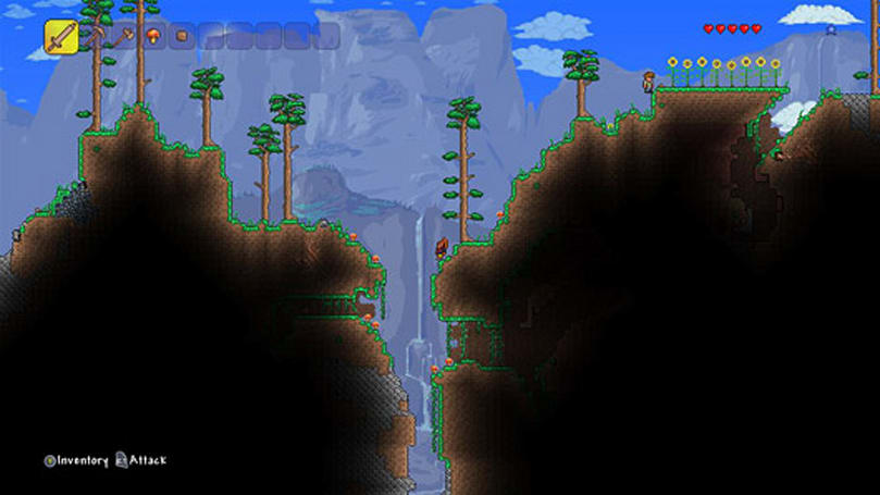 Terraria carves out an Xbox One release today