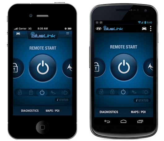 Updated Hyundai app brings remote control to your Blue Link fleet