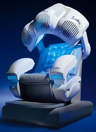 Tristar Massage Chair isn't built for the average living room