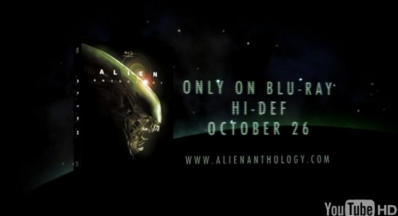 Alien Anthology Blu-ray trailer revealed, plus video of Comic-Con booth