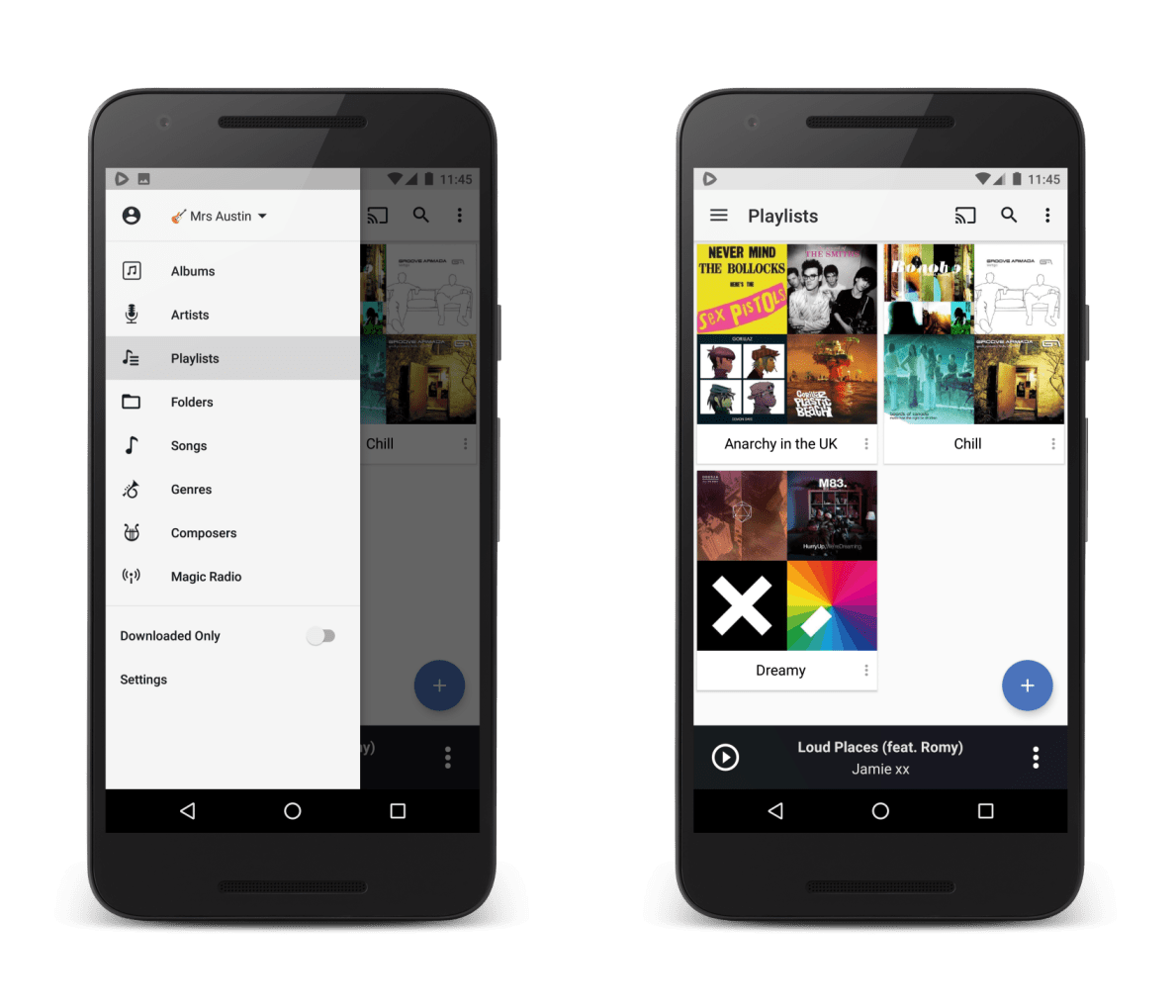 CloudPlayer now lets you take your playlists everywhere