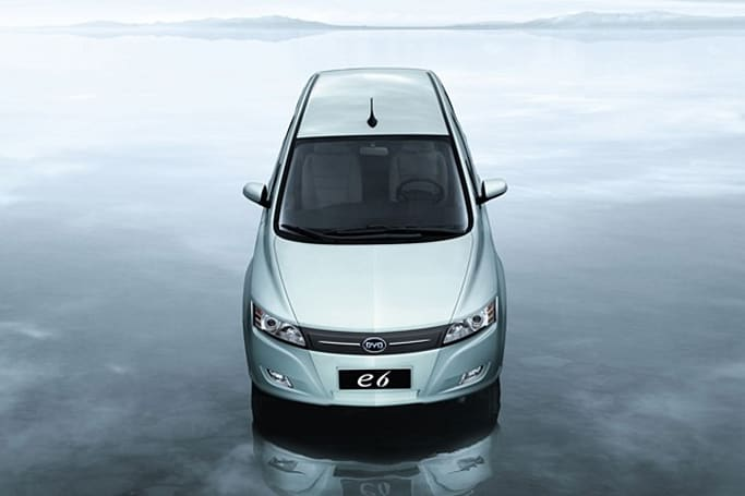 BYD's e6 goes on sale in China, still mulling trek across Pacific