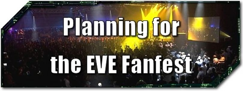 EVE Evolved: Planning for the EVE Fanfest