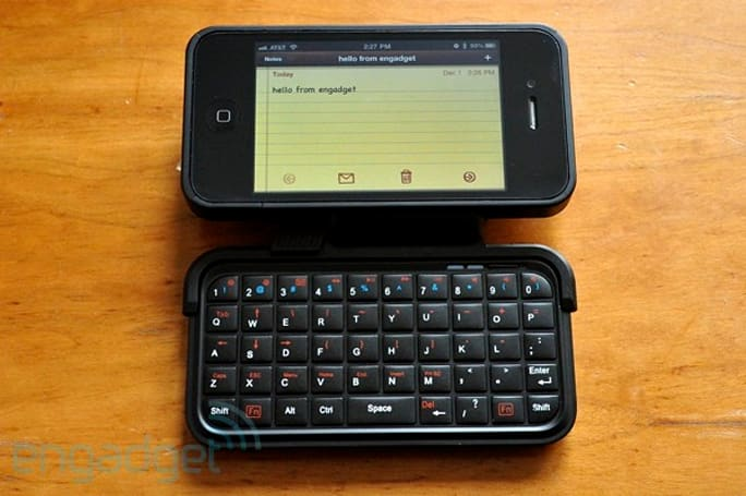 ThinkGeek TK-421 iPhone keyboard case review