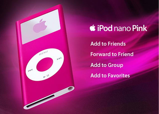 iPod nano wants to be your friend