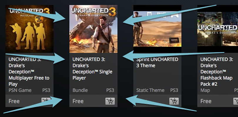 Uncharted 3 single-player listed as free for everyone on US PSN [update: gone!]
