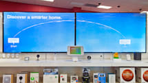 Target has an in-store space for explaining the smart home