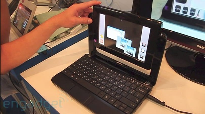 Mtube II mixes an Android tablet with an XP netbook