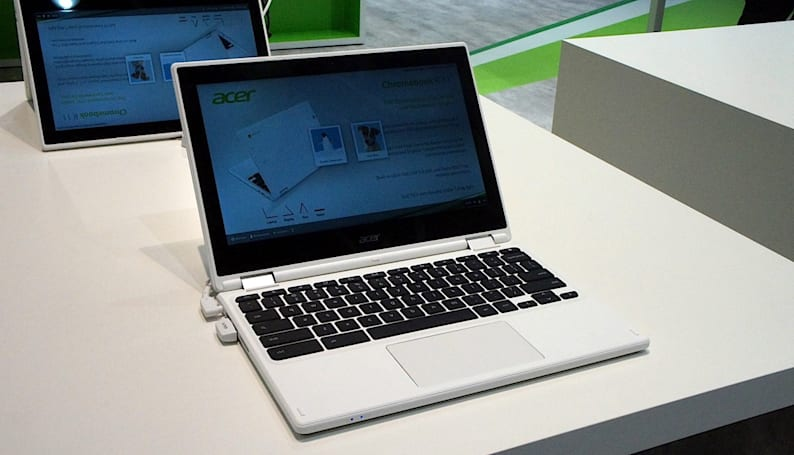 Acer's latest Chromebook gets a flip-around screen