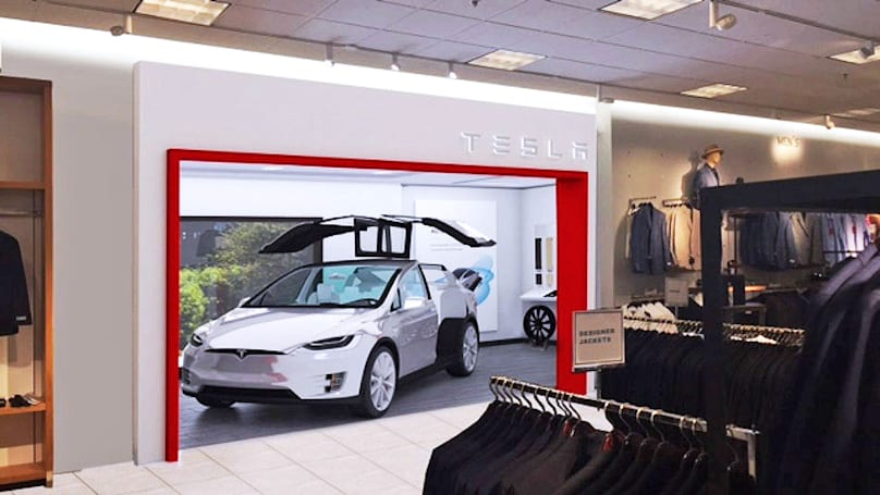 Tesla will soon sell EVs at a Nordstrom store in LA
