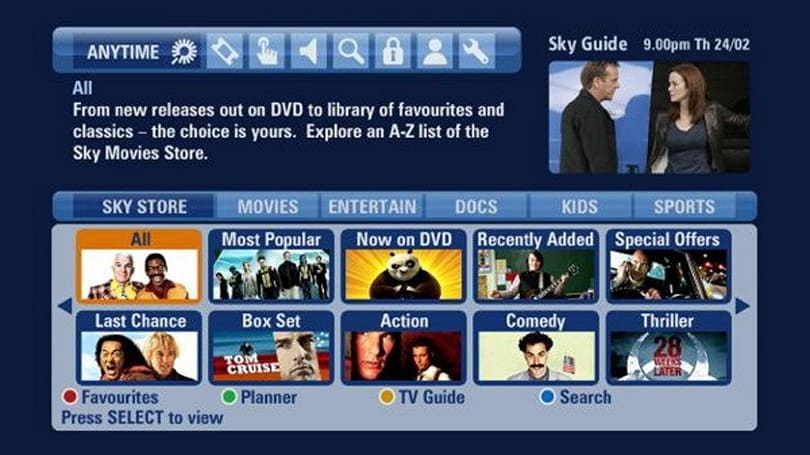 Sky Store replaces Sky Box Office in the war against everyone else