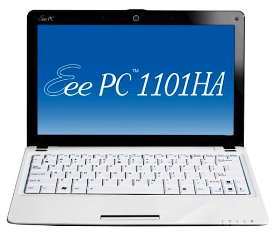 Video: Asus 11.6-inch Eee PC 1101HA to ship in Europe this month