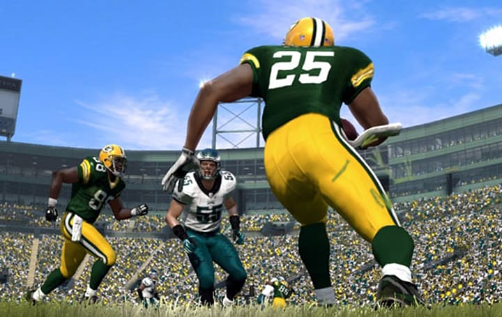 Madden 12's roster of updates includes custom playbooks, new collision system
