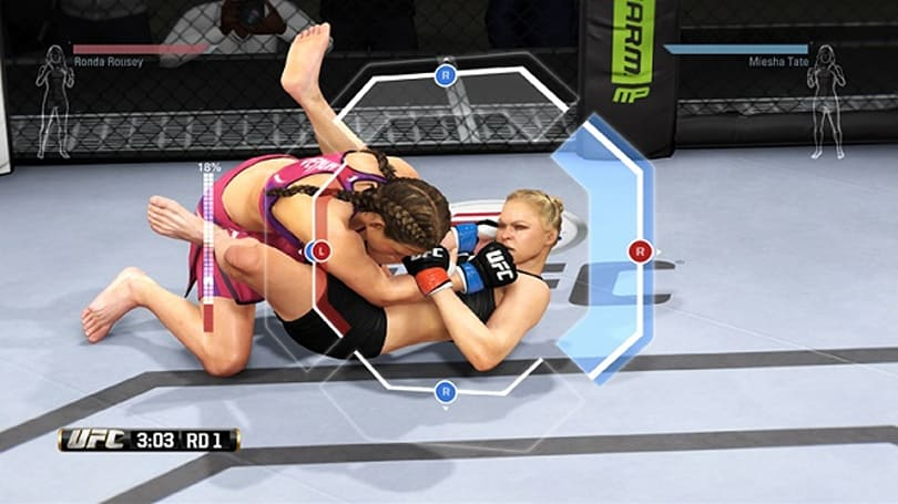 EA Sports UFC clinches June 3 demo, submits new gameplay video