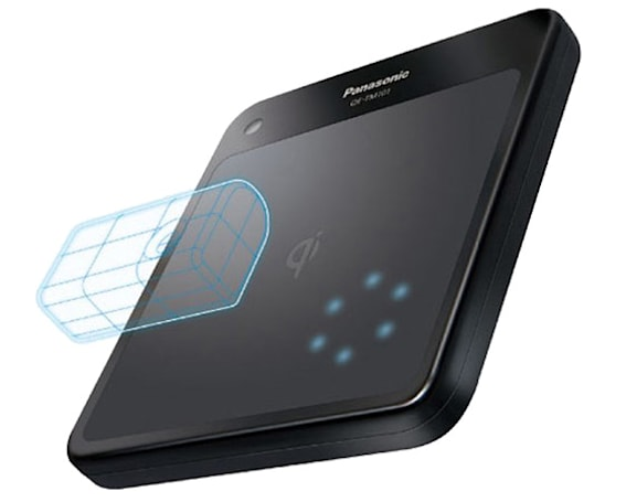 Panasonic Chargepad wirelessly juices up mobile chargers, nothing else