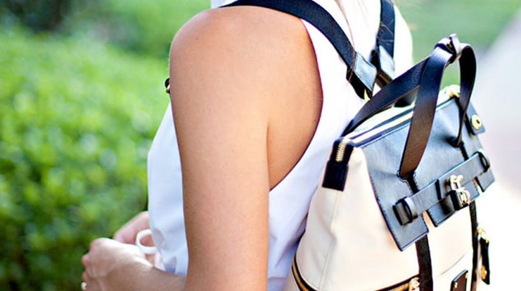 How to style a backpack