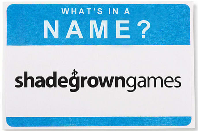 What's in a Name: Shadegrown Games