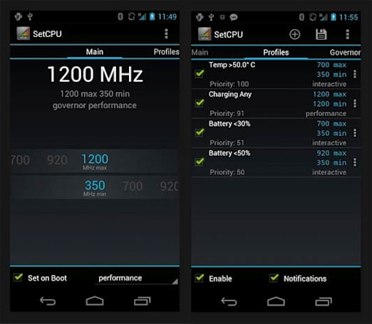SetCPU gets an ICS-like overhaul, makes overclocking easier to do