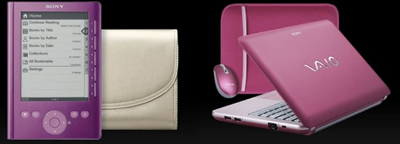 Sony outs pink Vaio W, Pocket Reader bundles for Breast Cancer Awareness Month
