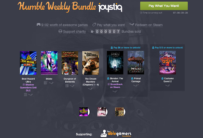 Joystiq presents Humble Weekly Bundle, made just for you
