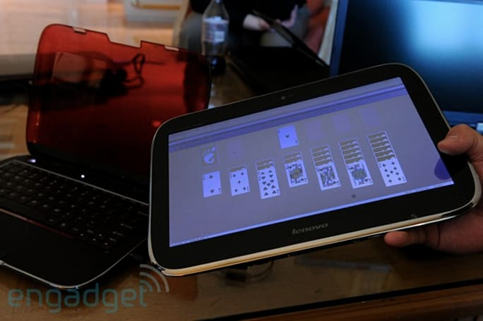 Lenovo IdeaPad U1 Hybrid hands-on and impressions
