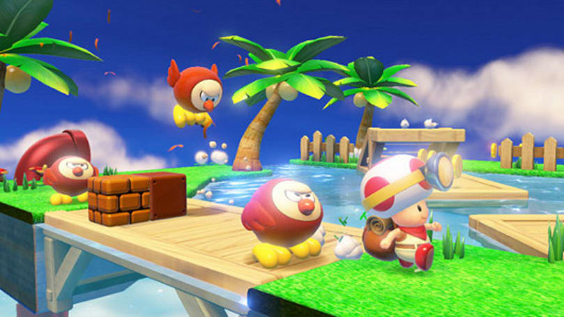 Captain Toad: Treasure Tracker review - Locked and Toaded