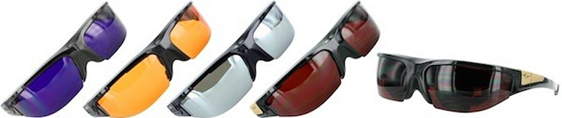 Vuzix Wrap Fashion Shades, now in four colors