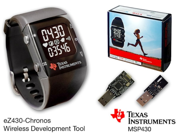 TI introduces the eZ430-Chronos development platform... and sports watch